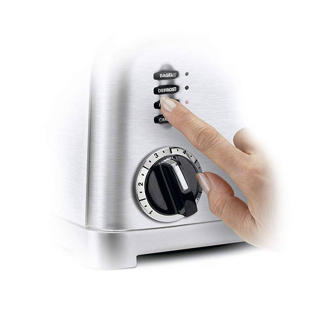 CPT-160 2-Slice Metal Classic Toaster - Brushed Stainless (90 Days Warranty)