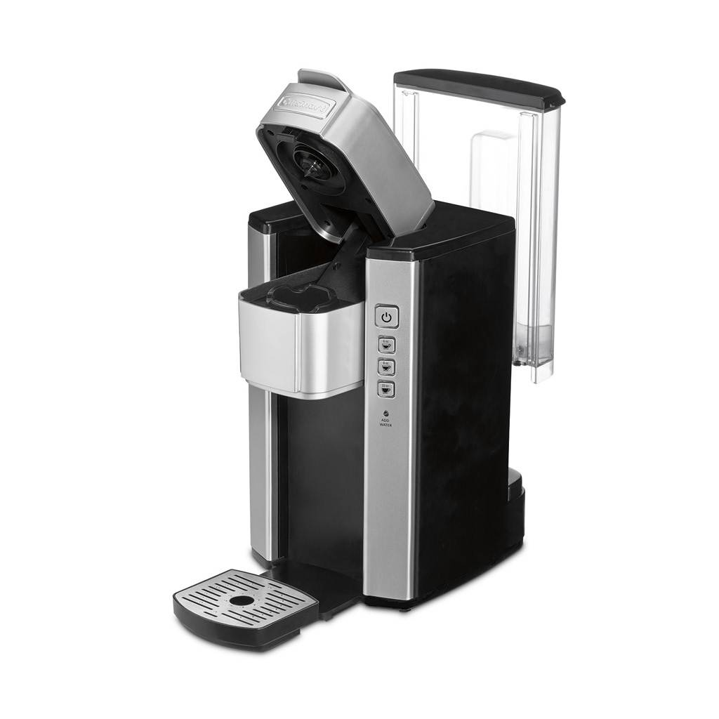 SS-5 Single Serve Brewer Coffee Maker - Silver/Black (90 Days Warranty)