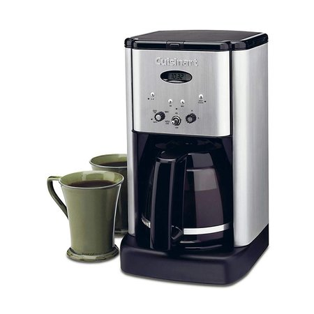 DCC-1200IHR Brew Central 12-Cup Programmable Coffee Maker - Brushed Stainless (90 Days Warranty)