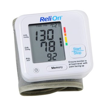 Certified Brand (ReliOn) BP200W Wrist Blood Pressure Monitor