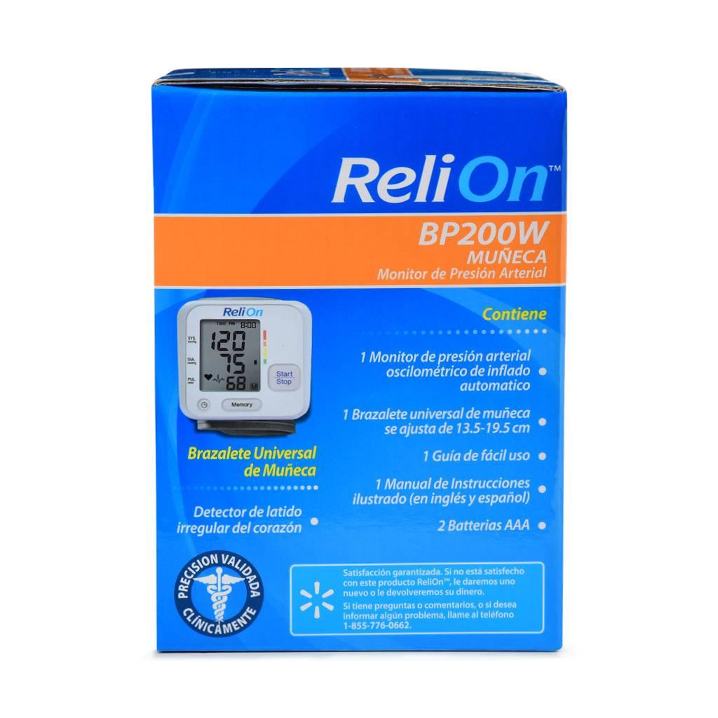 Certified Brand (ReliOn) BP200W Wrist Blood Pressure Monitor