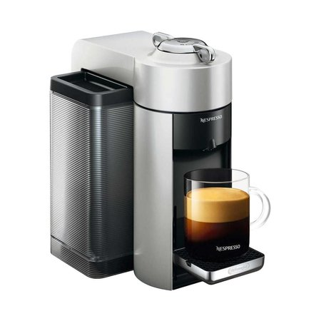 Nespresso Vertuo Coffee and Espresso Machine by De'Longhi - Silver