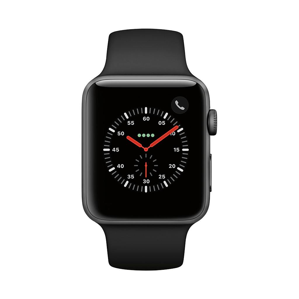 Watch Series 3 42mm GPS Space Grey with Grey Sport Band