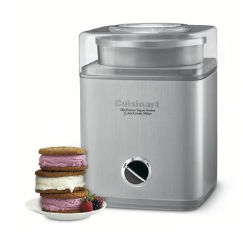 ICE-30BCC Pure Indulgence Gelato, Ice Cream and Sorbet Maker - Silver (Manufacturer Refurbished / 6 Month Warranty)