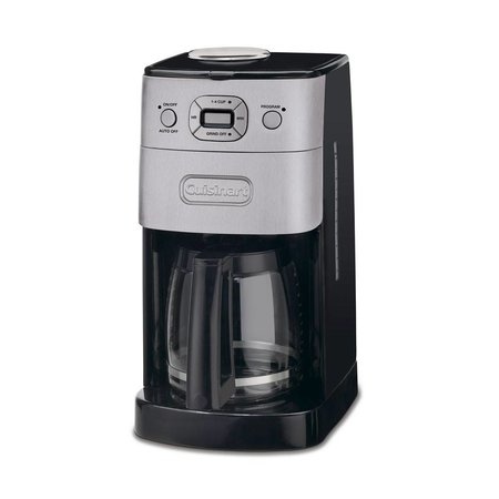 DGB-625BC Grind and Brew 12-Cup Automatic Coffeemaker - Brushed Metal (1 Year Warranty)