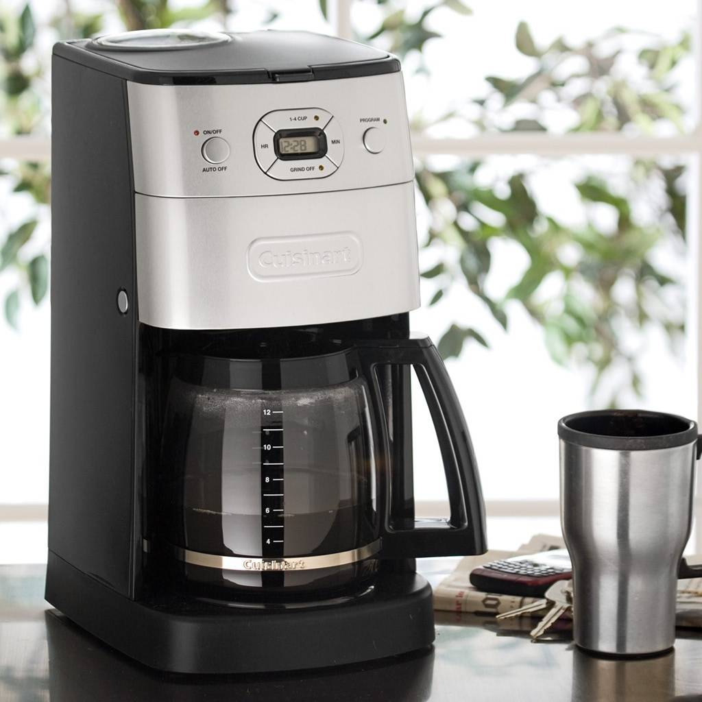 DGB-625BC Grind and Brew 12-Cup Automatic Coffeemaker - Brushed Metal (Manufacturer Refurbished / 6 Month Warranty)