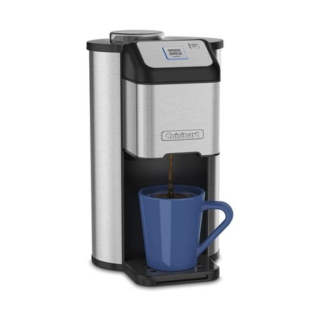 DGB-1C Single Cup Grind and Brew - Silver/Black (1 Year Warranty)