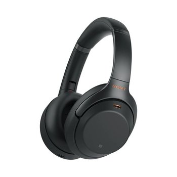 WH-1000XM3 Over-Ear Noise Cancelling Bluetooth Headphones - Black