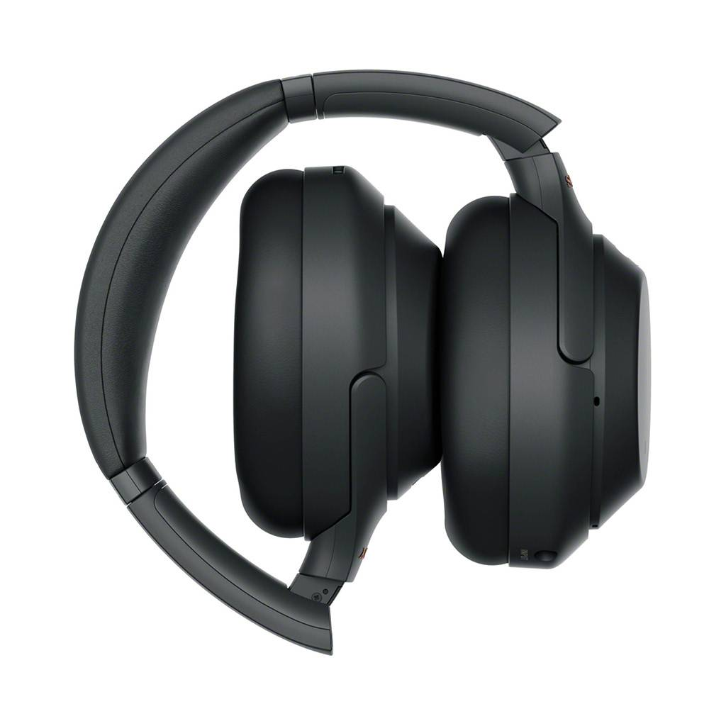 WH-1000XM3 Wireless Over-Ear Noise Cancelling Bluetooth Headphones with Google Assistant - Black