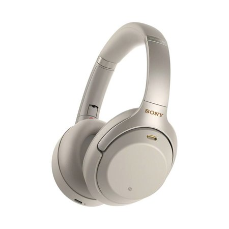 WH-1000XM3 Over-Ear Noise Cancelling Bluetooth Headphones - Silver