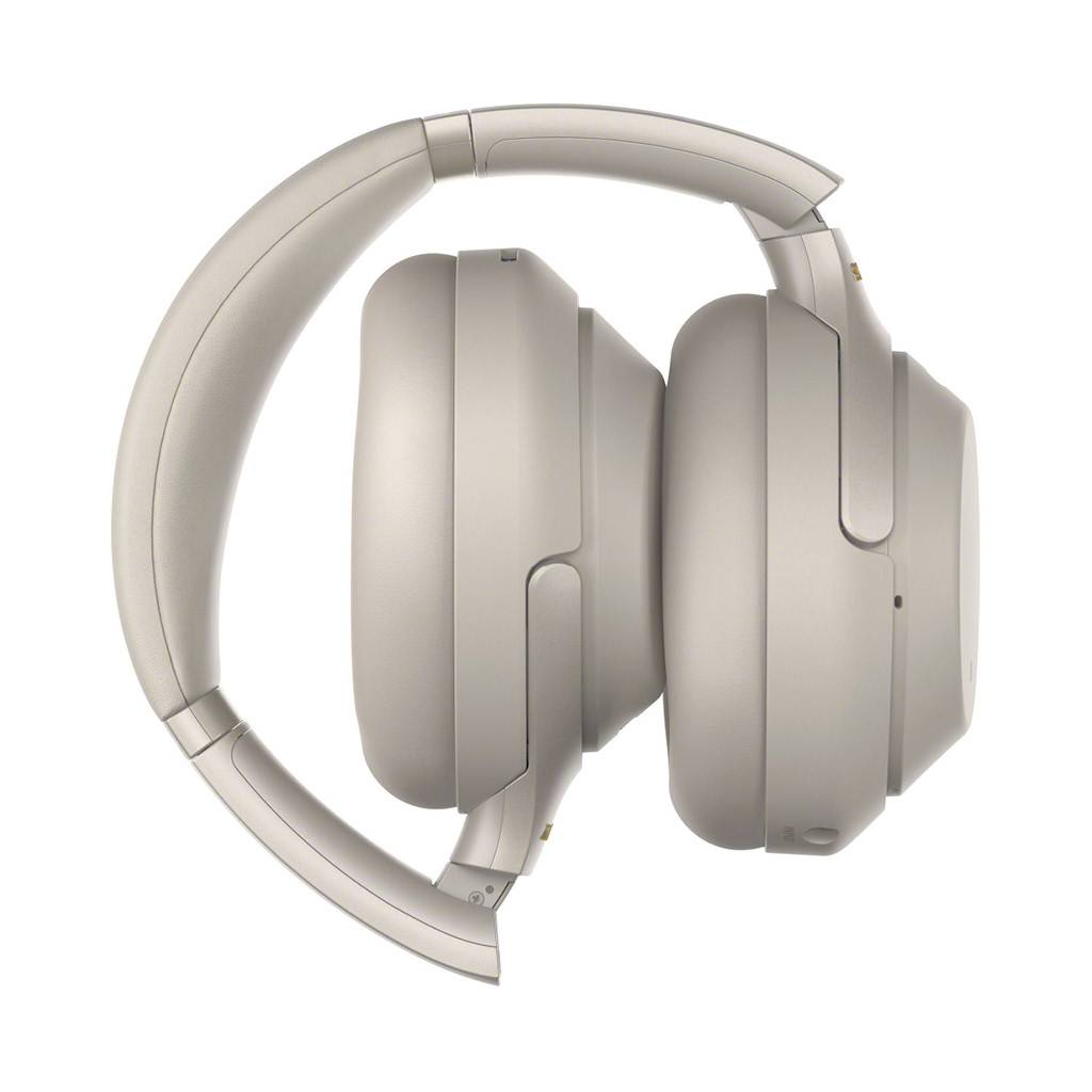 Sony WH-1000XM3 Wireless Over-Ear Noise Cancelling Bluetooth Headphones  with Google Assistant - Silver