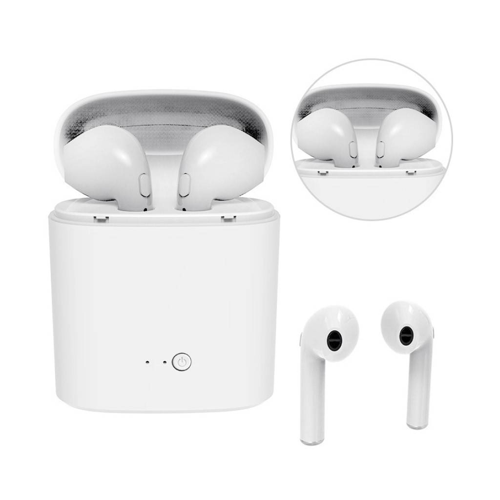 Bluetooth Wireless Auto Pairing Earbuds with Charging Case