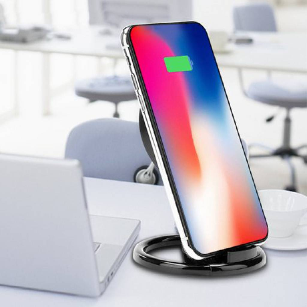 PDI Qi Universal Wireless Fast Charging Stand / Dock Charger