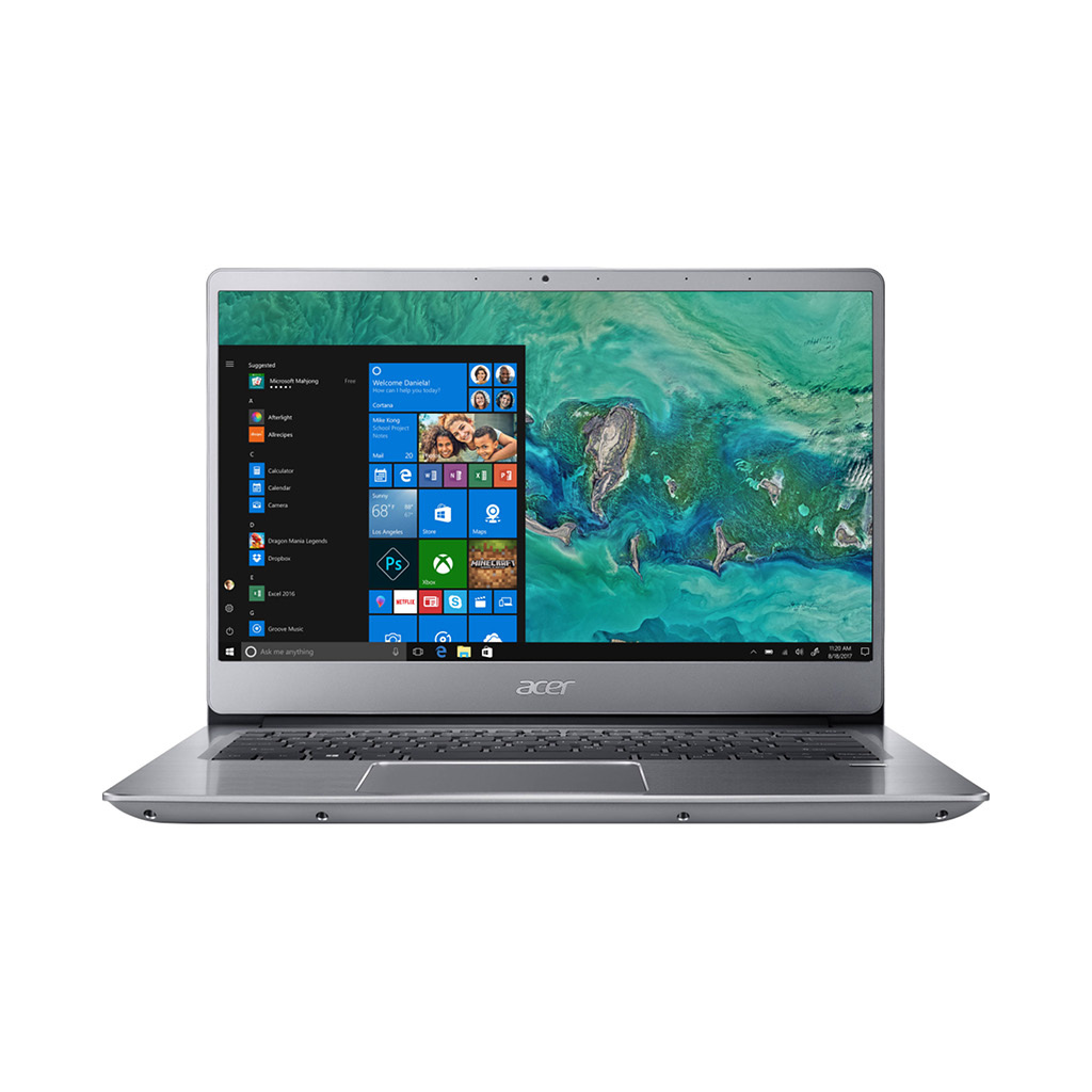 Acer Swift 3 SF314-54-552V Intel-Core i5-8250U (1.6GHz) / 8GB RAM + 16GB Optane / 1.0TB HDD / 14.0-in / Windows 10