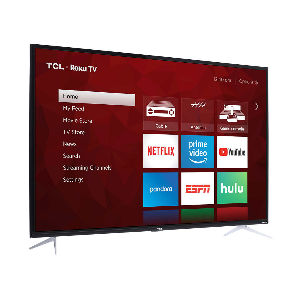 "TCL 55S423 55"" 4-Series 4K UHD HDR 60Hz (120 CMI) LED Roku Smart TV"