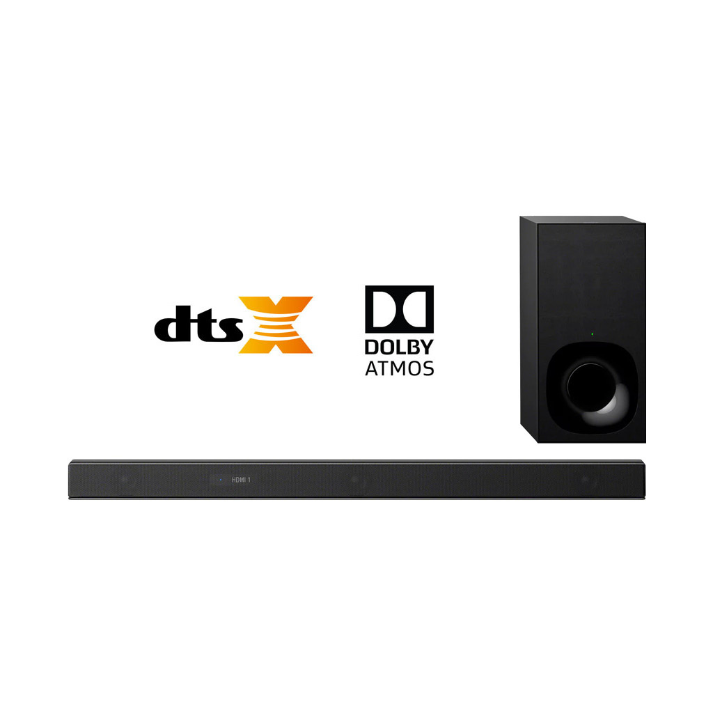 Sony HT-Z9F 3 1 Channel 400W Dolby Atmos/DTS:X Soundbar with Wireless  Subwoofer