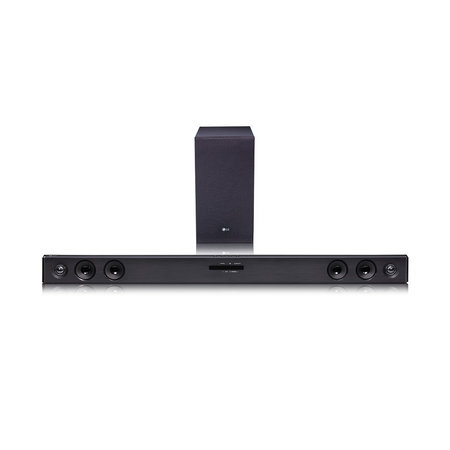 LG SJ3C 300-Watt 2.1 Channel Bluetooth Sound Bar with Wireless Subwoofer
