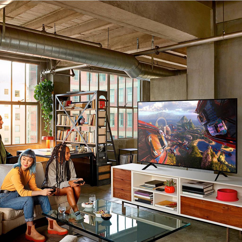 "QN65Q60 65"" Q60R  4K QLED HDR 120Hz (240Hz Motion Rate) Smart  TV"