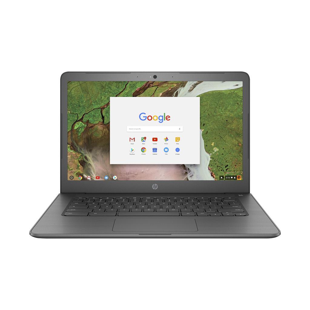 HP 14 G5 Chromebook 14-CA061DX  Intel Celeron N3350 (1.1GHz) / 4GB Memory / 32GB eMMC / Intel HD Graphics 500 / 14-in HD Multi Touch / Google Chrome OS