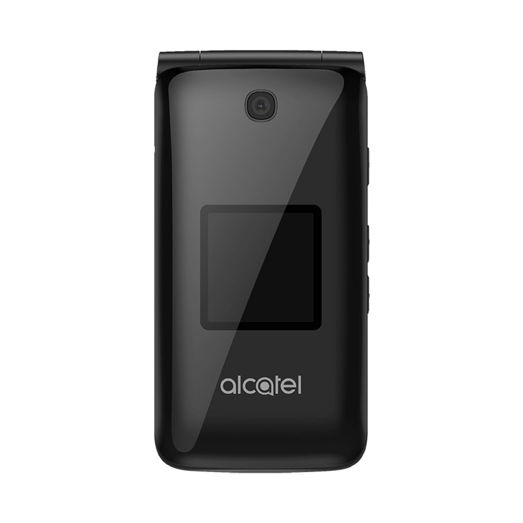 Alcatel Go Flip Kaios 4GB Flip Phone (Unlocked) - Black