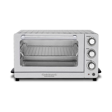 TOB-60 Toaster Oven Broiler with Convection - Brushed Stainless Steel (90 Days Warranty)