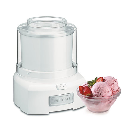 ICE-21 1.5 Quart Frozen Yogurt-Ice Cream Maker (Manufacturer Refurbished / 6 Month Warranty)
