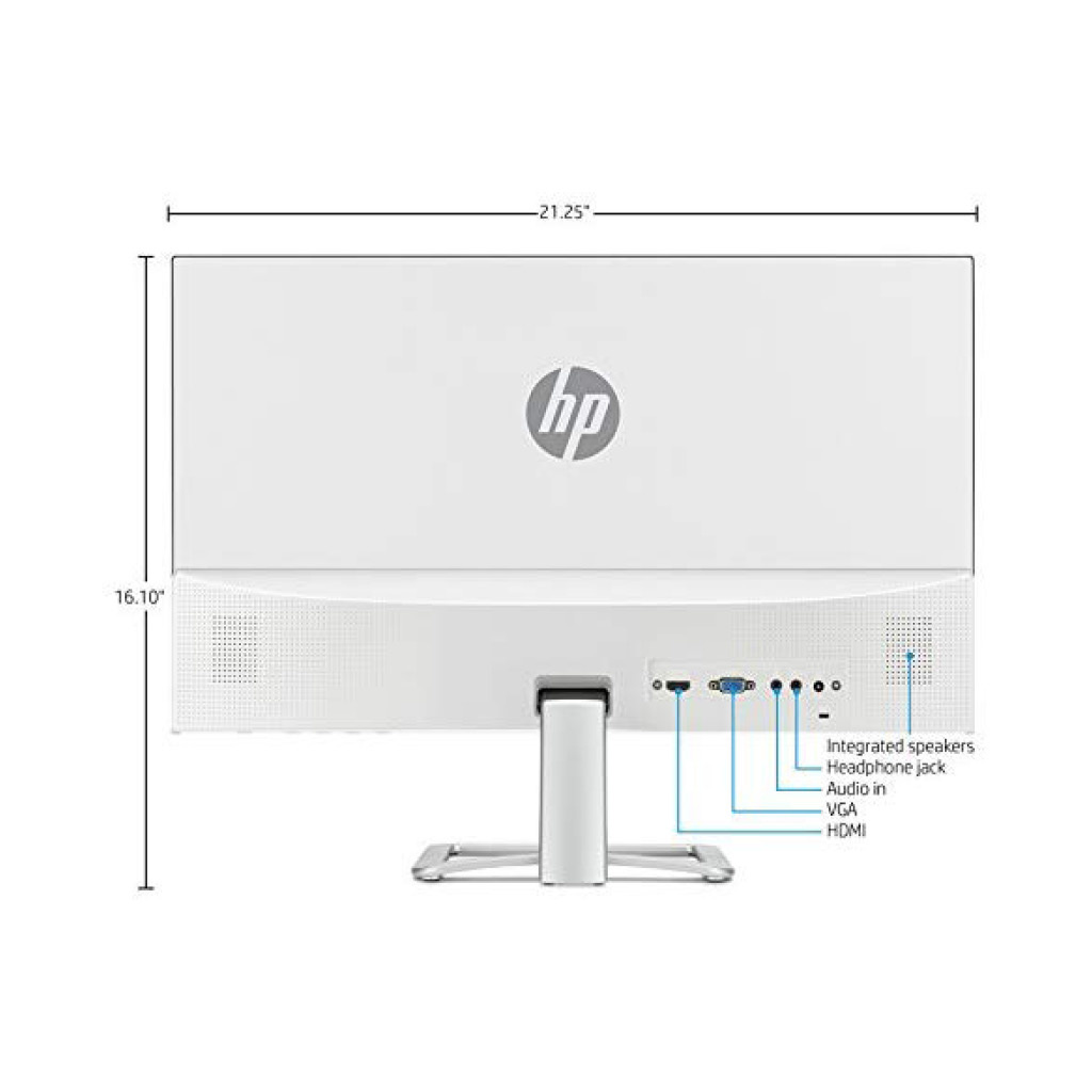 "HP 23.8"" 24EA FHD with Built-in Audio Monitor"