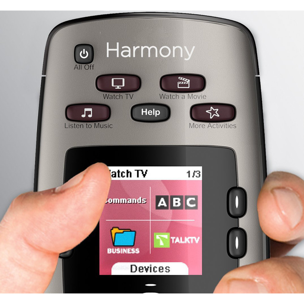 Logitech Harmony 650 Remote Control Silver