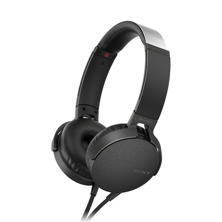 MDRXB550AP Extra Bass Headphone - Black