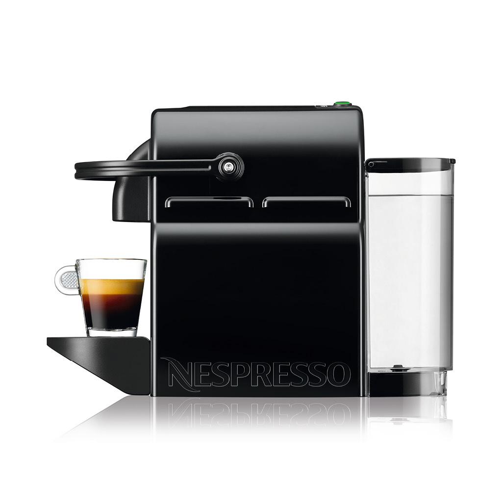 Nespresso Inissia Coffee and Espresso Machine by De'Longhi - Black