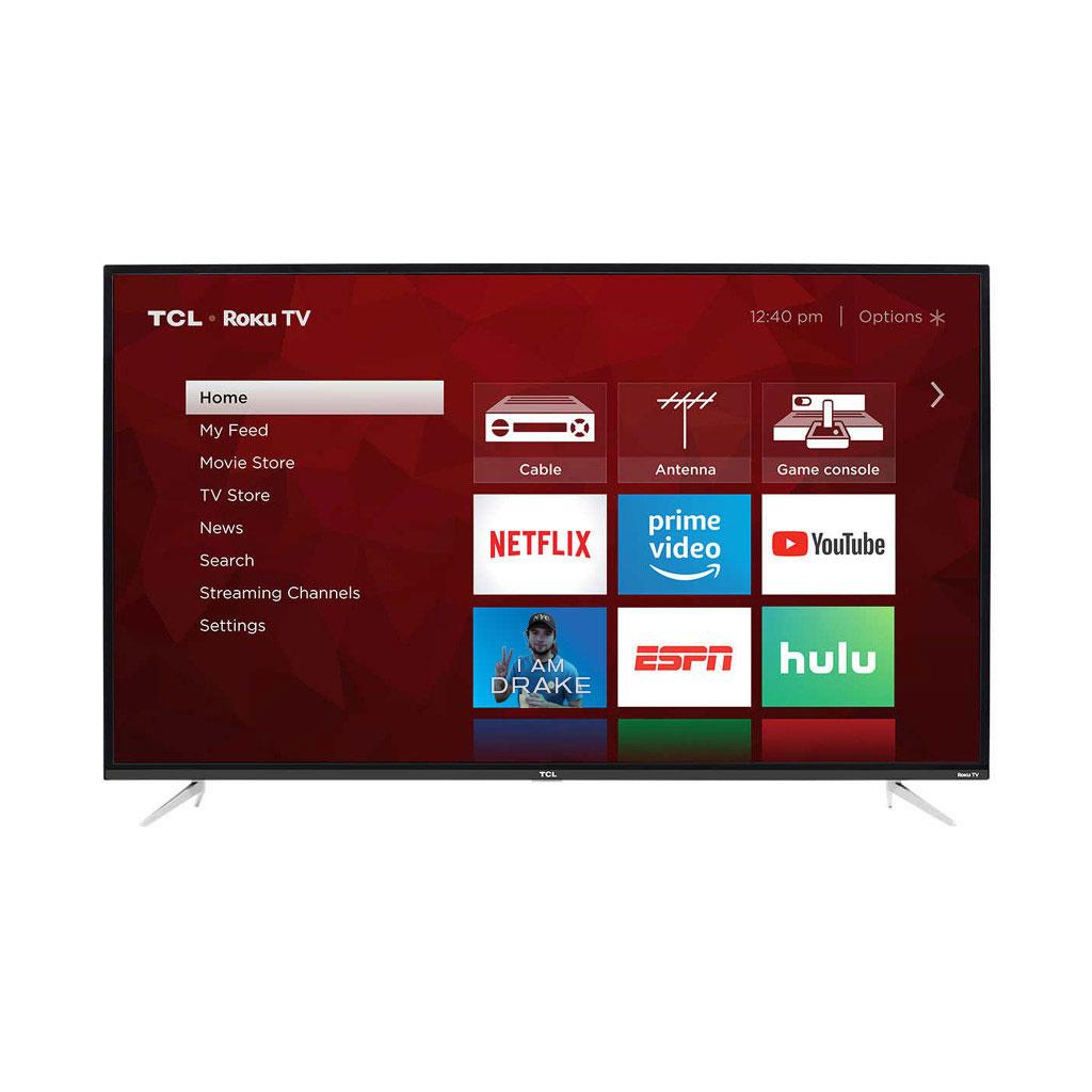 "TCL 65S423 65"" 4-Series 4K UHD HDR 60Hz (120 CMI) LED Roku Smart TV"