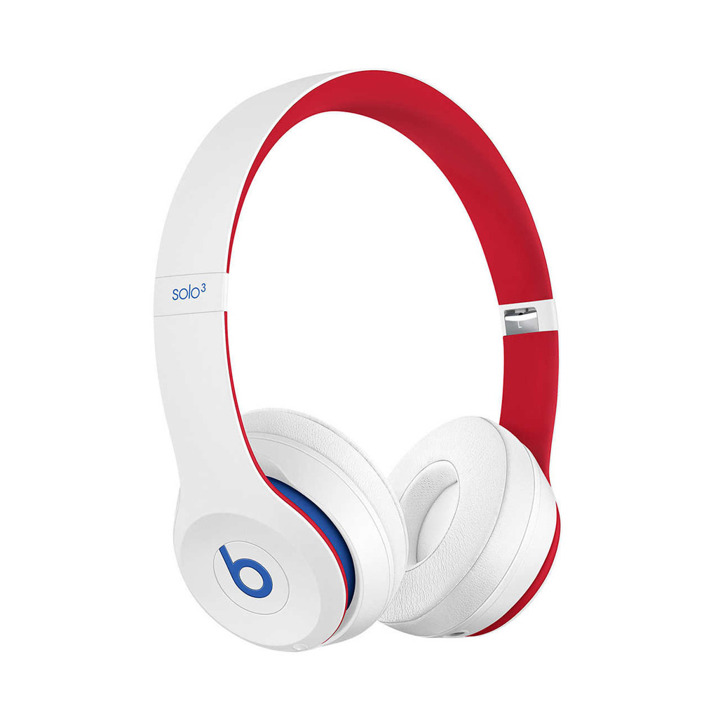 Beats by Dr. Dre Solo3 Club Collection On-Ear Bluetooth Headphones in Club White