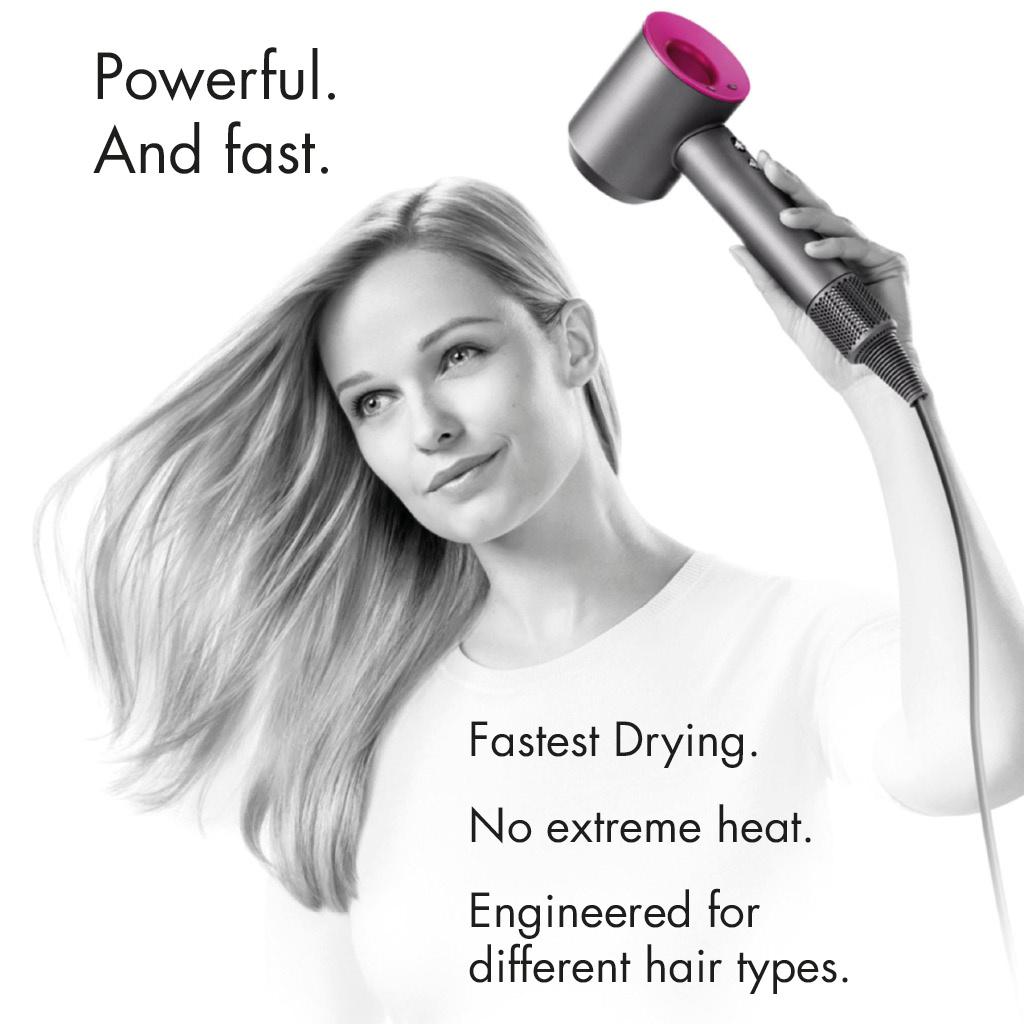 Supersonic Hair Dryer (1 Year Dyson Warranty)
