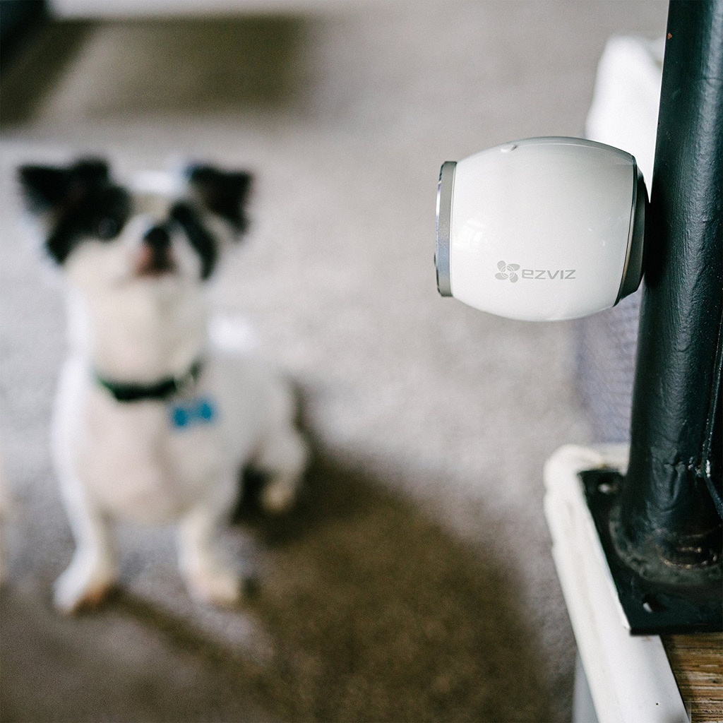 EZVIZ Mini Trooper Wire-Free Indoor/Outdoor Security Camera System with Base Station - 2 Camera Kit