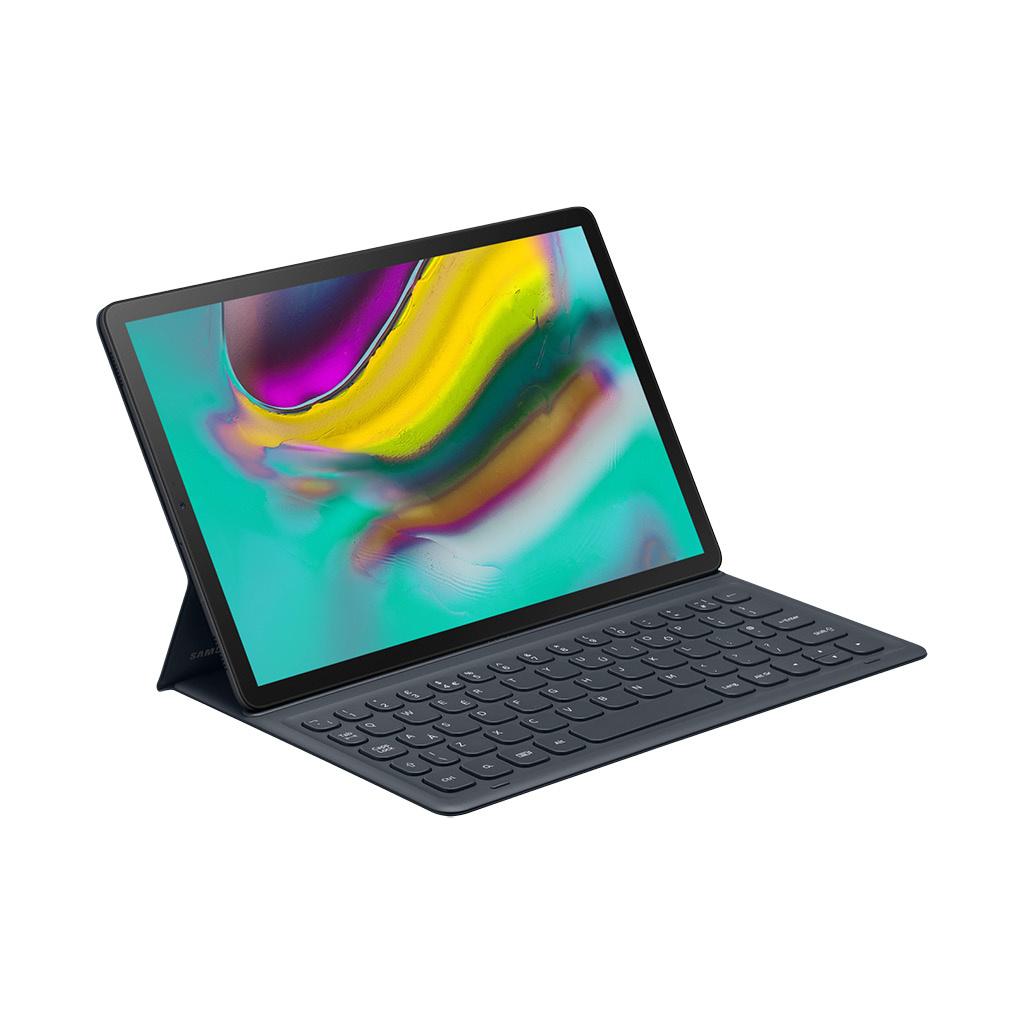 "Galaxy Tab S5e 10.5"" Book Cover Keyboard Folio Case (Black)"