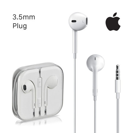EarPods with Remote, Mic and 3.5mm Headphone Plug in White