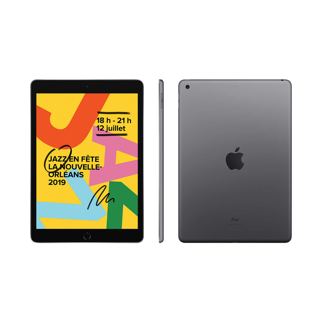 "iPad 2019 (7th Generation) 10.2"" 32GB with WiFi - Space Grey"