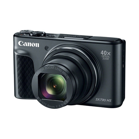 Canon Powershot SX730 HS 20.3MP 40x Optical Zoom Digital Camera - Black