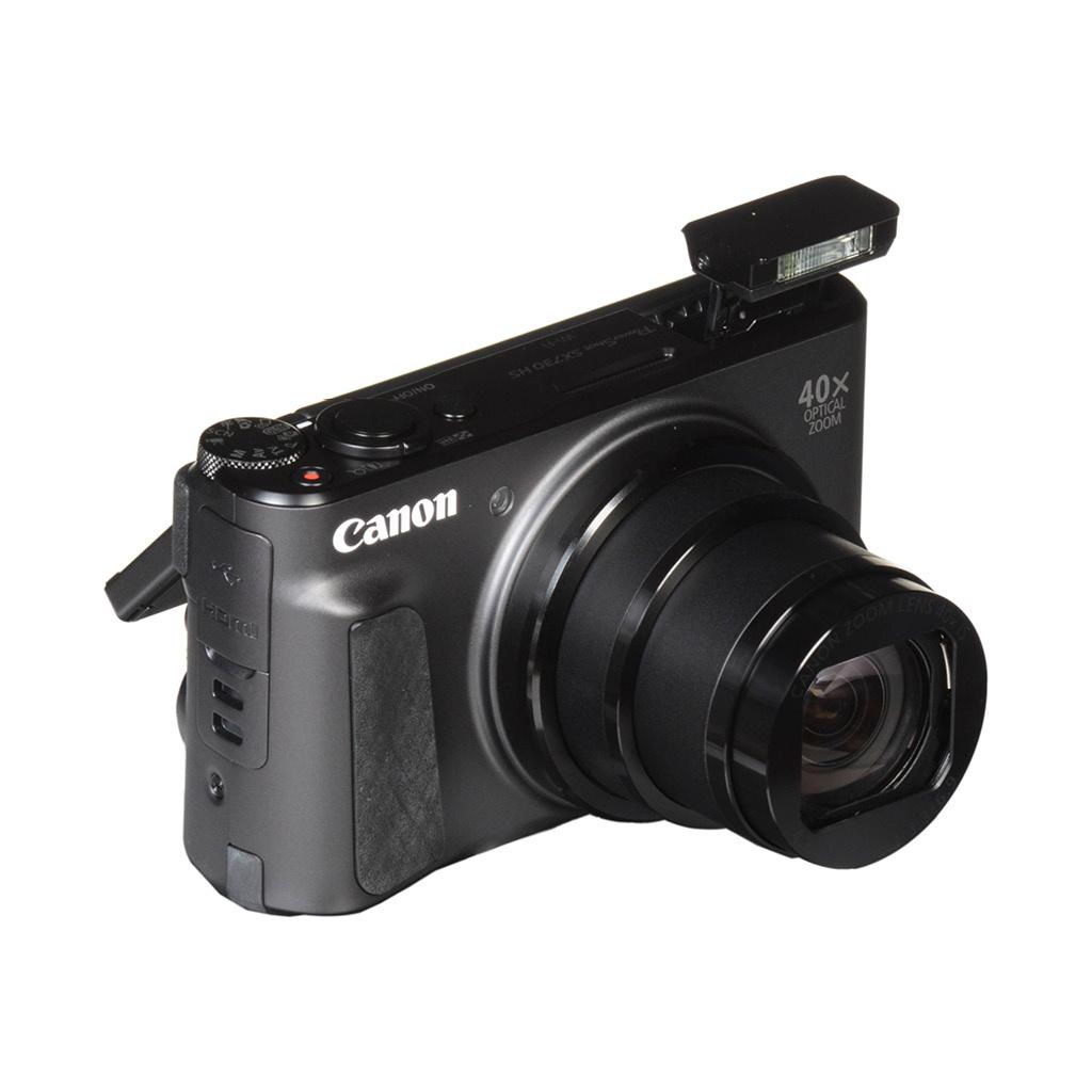 Canon Powershot SX730 HS 20.3MP 40x Optical Zoom Digital Camera - Black