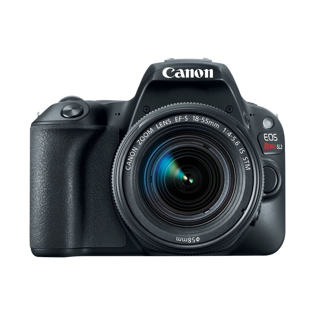 Canon EOS Rebel SL2 24.2MP DSLR Camera with 18-55mm Lens