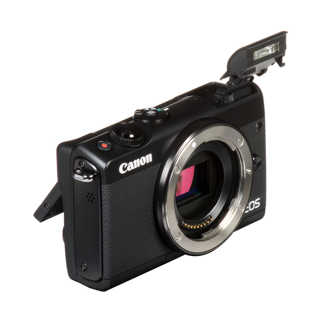 Canon EOS M100 Mirrorless Camera with EF-M 15-45 mm Lens /  6 Months Warranty