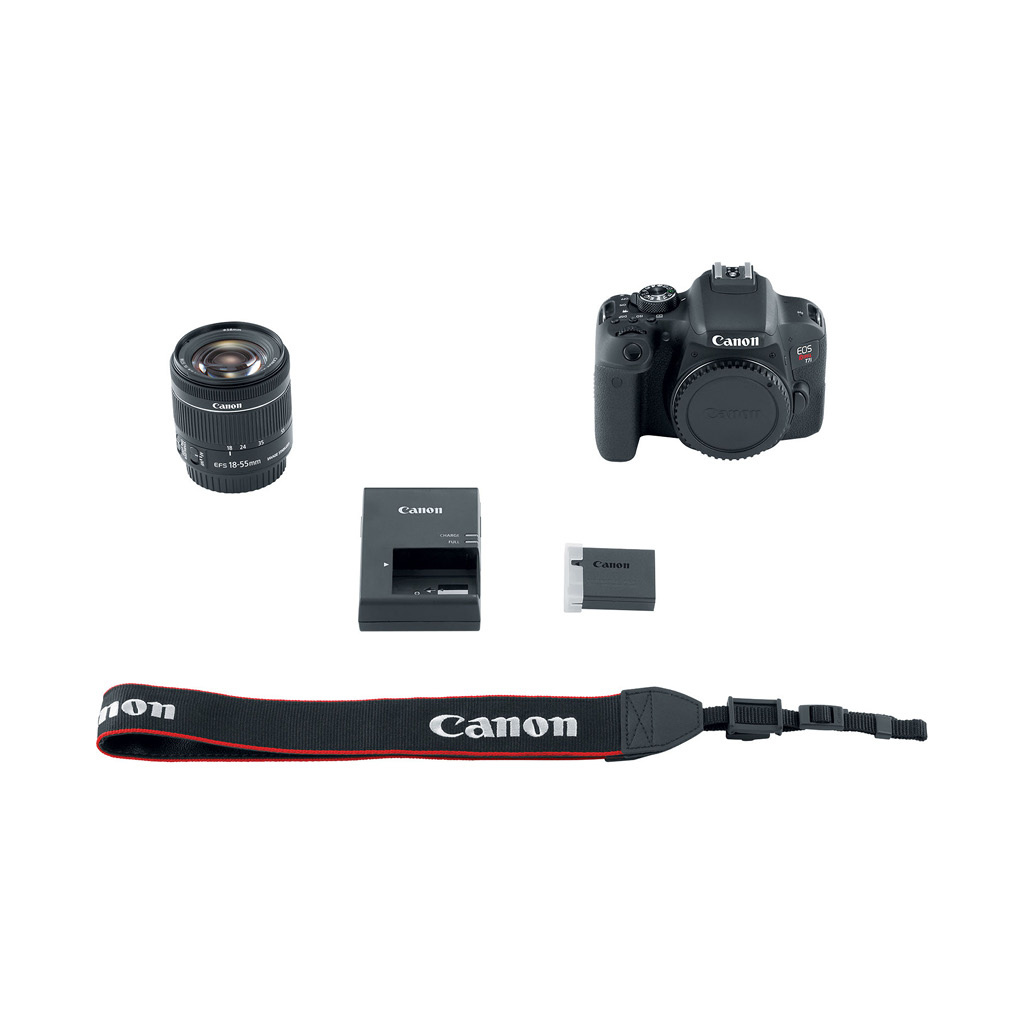 Canon EOS Rebel T7i 24.2 MP DSLR Camera with 18-55mm Lens