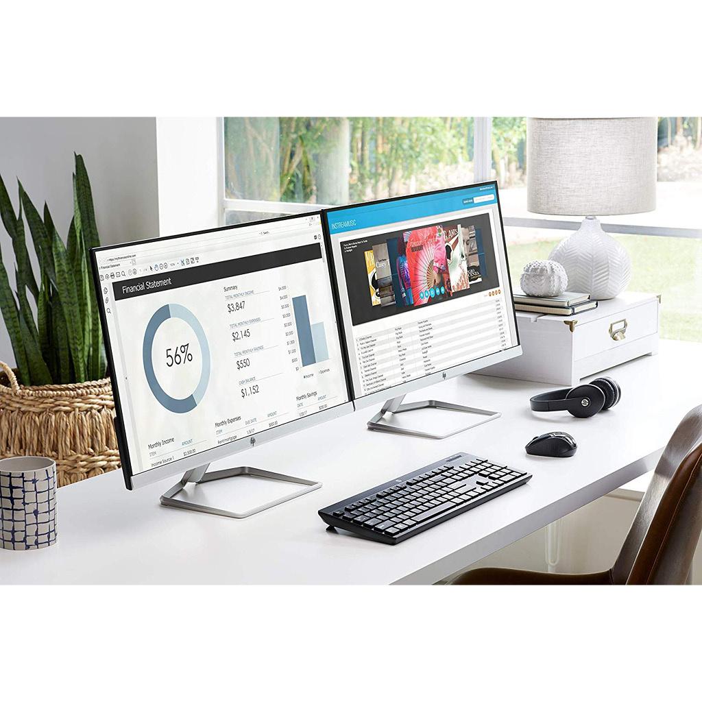"""HP 27"""" 27f FHD 1080p 60Hz Monitor"""