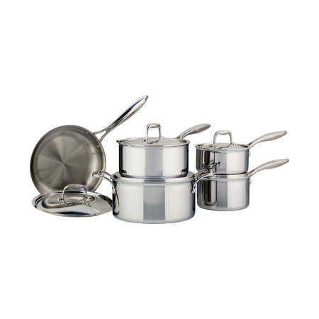 Meyer SuperSteel Tri-Ply 10-Piece Cookware Set