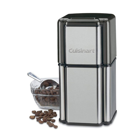 Cuisinart DCG-12 Grind Central Coffee Grinder - Brushed Stainless Steel (Manufacturer Refurbished / 6 Month Warranty)