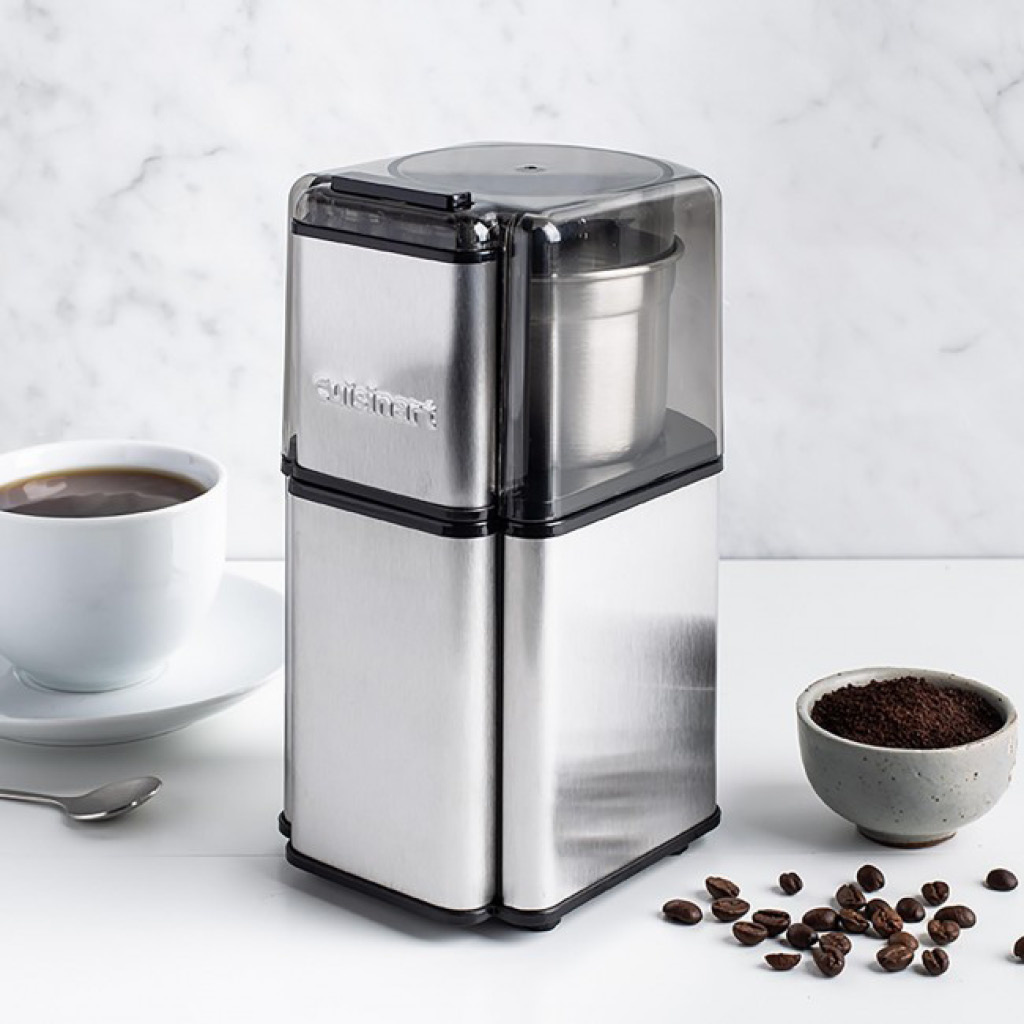 Cuisinart DCG-12 Grind Central Coffee Grinder - Brushed Stainless Steel (Manufacturer Refurbished / 6 Month Warranty)