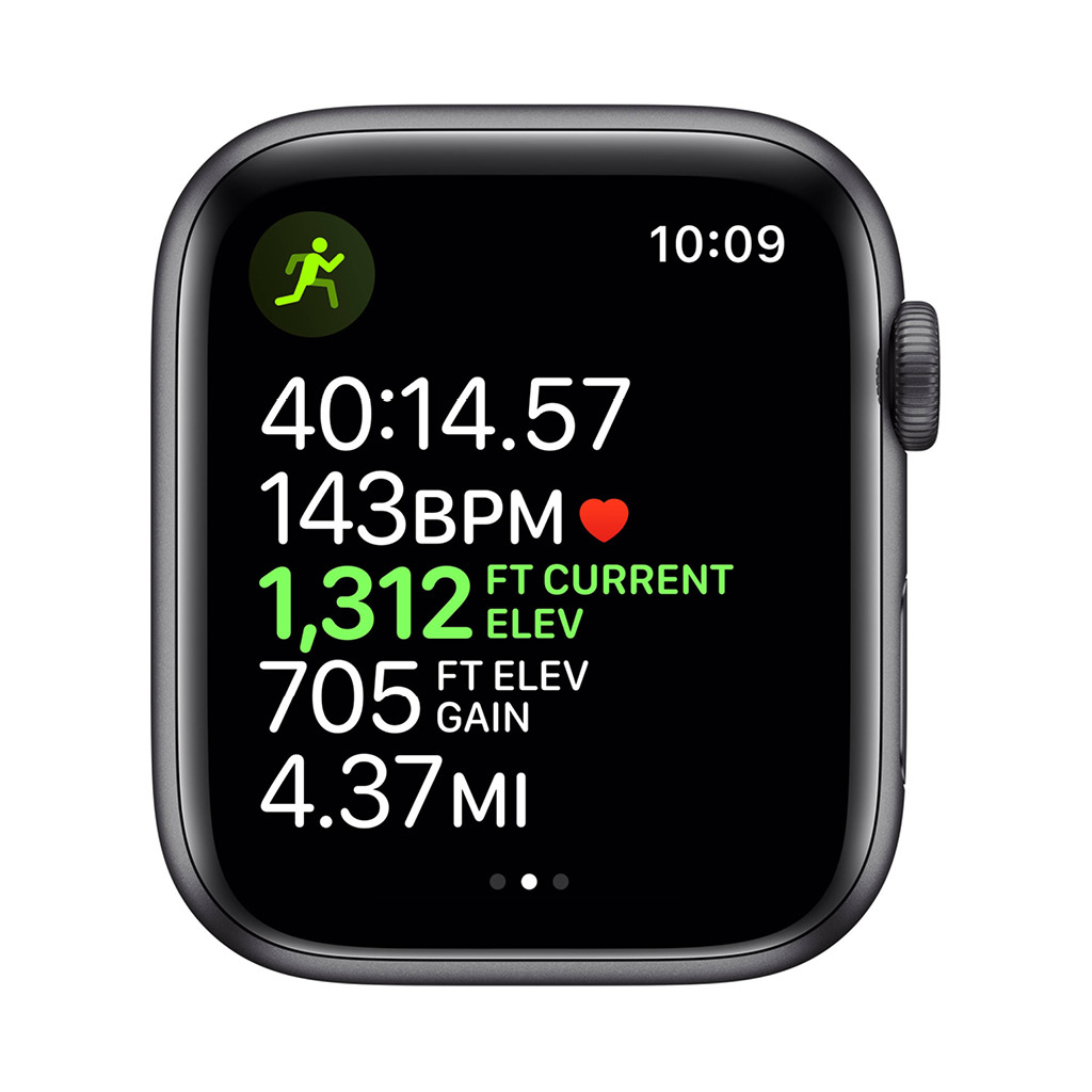 Watch Series 5 44mm GPS Space Grey with Grey Sport Band