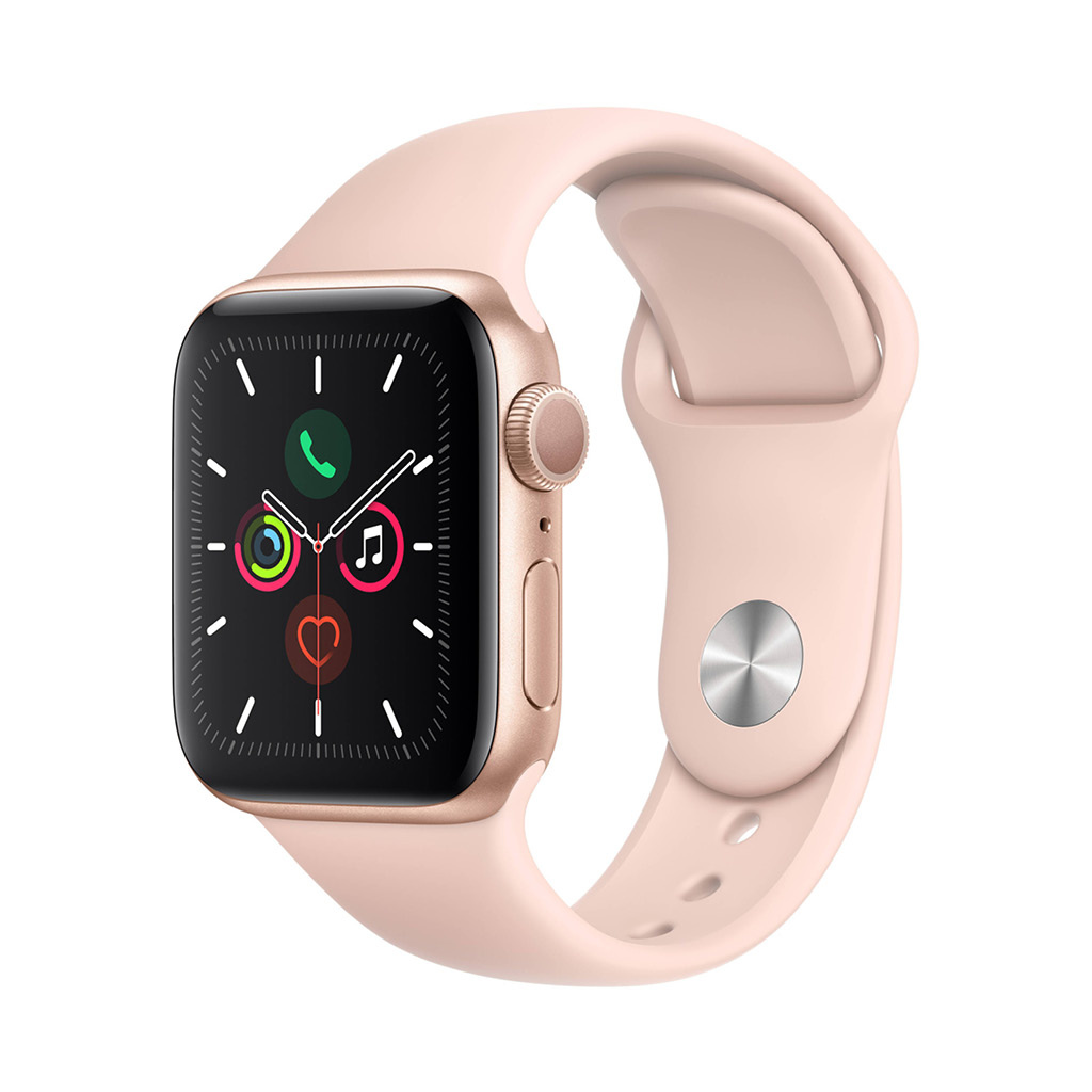 Watch Series 5 40mm GPS Gold with Pink Sand Sport Band