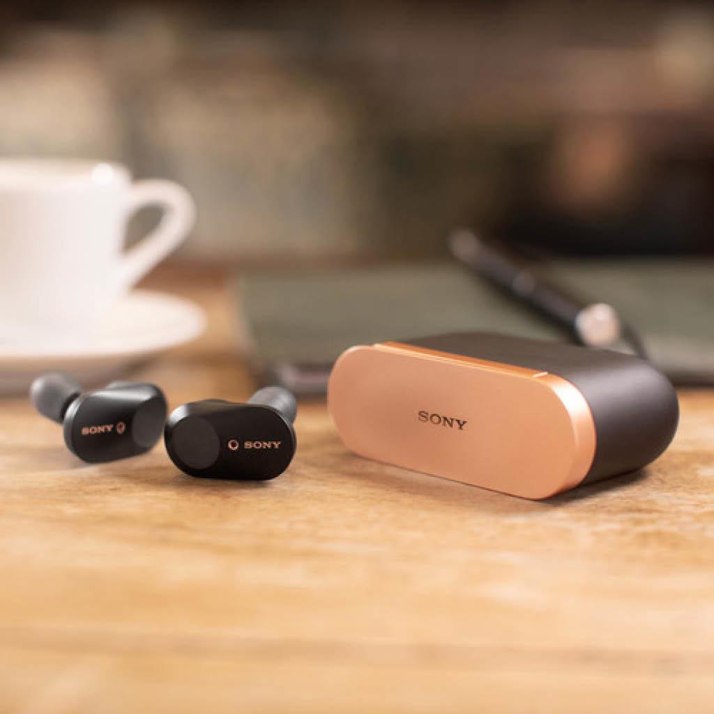 WF-1000XM3/B Truly Wireless Bluetooth Earphones - Black