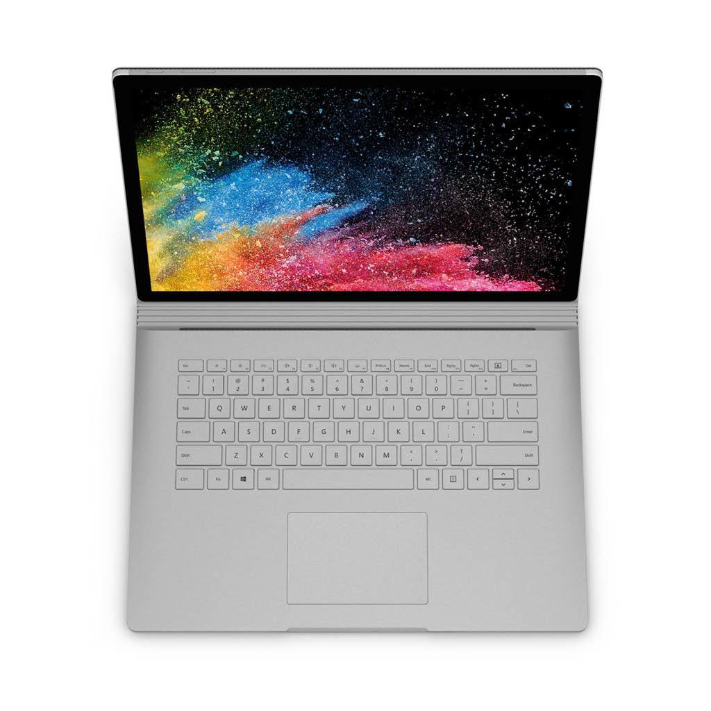 Microsoft Surface Book 2 / Intel Core i7-8650U (1.9GHz) / 13.5-in PixelSense Display / 8GB RAM / 256GB SSD / NVidia GeForce GTX 1050 (2GB) / Win 10